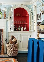 Home Bar In Built Shelving