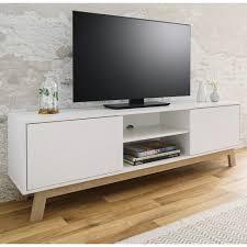 tv lowboard apart weiß und eiche 150 x 50 cm 179 99
