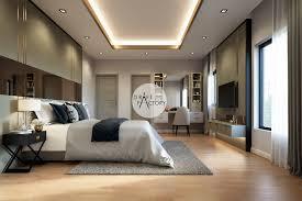 100 Modern Luxury Bedroom House_Mahasarakham Draft Factory