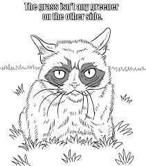 Welcome To Dover Publications Grumpy Cat Coloring Book And David Cutting