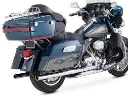 Vance And Hines Dresser Duals 16799 by Touring Flh Flt