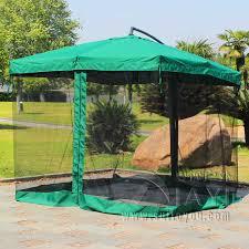 27 Meter Steel Iron Sun Garden Umbrella Parasol Patio