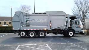 Waste Industries Cng Truck - YouTube
