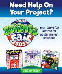 make a science fair project light bulb colors poster ideas