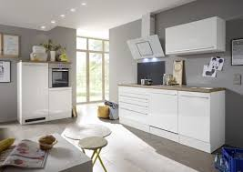 respekta premium küchenzeile küchenblock einbauküche weiß hochglanz 320 cm
