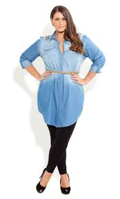 Best 25+ Denim Shirts For Girls Ideas On Pinterest   Girls School ... Plus Size Tops Shirts Blouses Wave Crochet Top Wrangler Riggs Workwear Boot Barn Mens Work Fire Resistant Best 25 Green Short Sleeve Tops Ideas On Pinterest T Shirt Womens Drses Coshoulder Highlow Dress Dressbarn My Tshirts The Hundreds Casual Day Western Silver Edition Ashley Graham Launches New Collection At Dressbarn Instylecom Image Collections Design Ideas Hippie Pick World Button Down Medium Pre Owned Sleeves Can Be