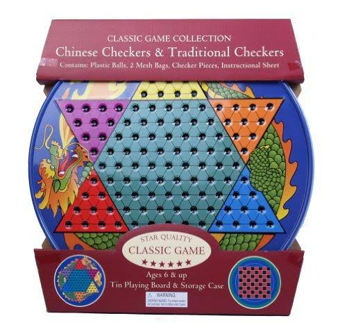 Classic Game Chinese Checkers & Traditional Checkers