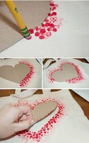 27 Wonderful Wall Art DIY Ideas 14 Easy DIY Heart Art