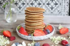 gesunde pancakes mit nur 3 zutaten vegan backen mrs flury