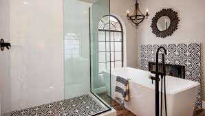 cement tile moroccan tile black and white tile riad tile