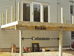Free Standing Deck Bracing by L Shaped Porch Framing Building U0026 Construction Page 2 Diy