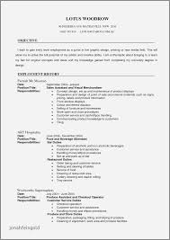 50 New Resume Objective Examples Cnc Machinist