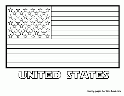 The United States Symbols Coloring Pages White House
