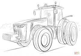 Coloriage Tracteur Agricole Coloriage à Imprimer Ou à Faire En