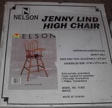 jenny lind high chair storage auctions