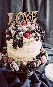 The Second Treatment More Rustic In Style Sees Outside Of Cake Covered With A Rough Layer Icing And An Abundance Fresh Sugar Dipped