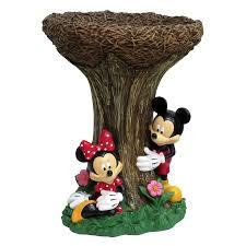 Mickey And Minnie Bath Decor by Decor Marvelous Lowes Bird Bath For Garden Decoration Ideas