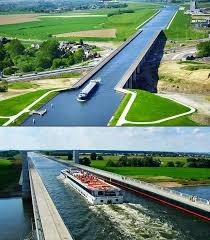 100 Magdeburg Water Bridge Germany Places Around The World