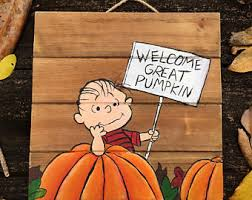 Linus Great Pumpkin Image by Price Reduced Welcome Great Pumpkin Linus Charlie Brown