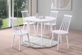 Norden Home Bodie Dining Table Set With 4 Chairs   Wayfair.co.uk Kitsch Round Glass Table Set Of 4 Chairs Dfs Ireland Mcombo Mcombo Ding Side 4ding Clear Ingatorp And Chairs White Ikea Cally Modern Table With La Sierra Fniture Grindleburg 60 Woodstock Carisbrooke Barker Stonehouse Dayton 48 Upholstered Shop Hlpf5cap 5 Pc Small Kitchen Setding Hanover Traditions 5piece In Tan A Jofran Simplicity Chair Slat Back Pier 1 W Aptdeco Rovicon Lulworth Pedestal