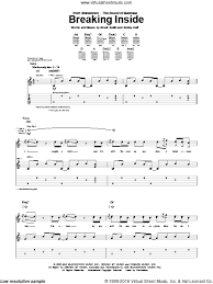 Shinedown Shed Some Light Download by Shinedown Breaking Inside Sheet Music For Guitar Tablature