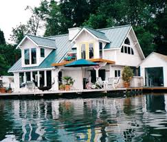 Floating Houses Portland Oregon Oh do I love this