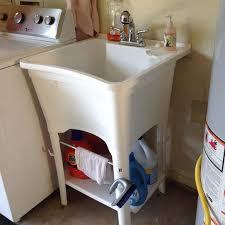 Glacier Bay Laundry Sink by Glacier Bay All In One 24 In X 24 In 20 Gal Heavy Duty