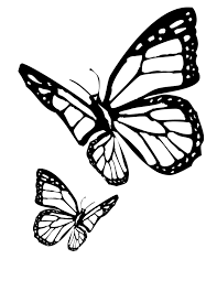 Butterfly Coloring Pages Monarch Caterpillar 2124293