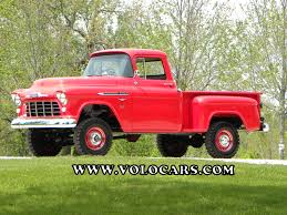 1956 Chevrolet 3100   Volo Auto Museum 1959 Gmc 4x4 Napco Cversion Red And White Truck Model Trucks Legacy Chevy Build Your Own Chevrolet Suburban 4x4 Mosing Motorcars Apache Pickup W35 Kissimmee 2015 Awesome Other Pickups The Forgotten 1958 Napco Used For Sale Split Personality Classic 1957 1969 C50 Is Here To Shame Brodozer Hooniverse 31 Deluxe Fleetside Studebaker Promo Youtube