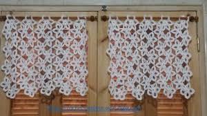 rideau de cuisine en mes realisations cuisine les rideaux crochet d amour