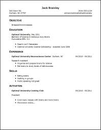 Resume Examples One Job Template How To Show Multiple