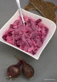matjessalat mit roter bete und apfel katha kocht