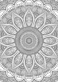Drawings Didzioji Mandalu Knyga Mandala Adult Coloring And Mandalas On Animal Pages For Adults
