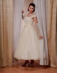 1950s wedding dresses neighborhood gallery honors long time maker