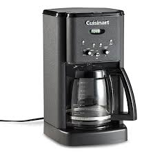 cuisinart brew central 12 cup programmable coffee maker in black