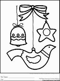 Party Fantastic For Kids Has Baby Jesus Christmas Ornament Coloring Sheets Pages