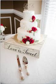 Rustic Wedding Cake Stand Wood
