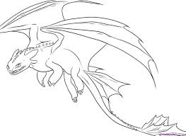 Good How To Train Your Dragon Night Fury Coloring Pages On