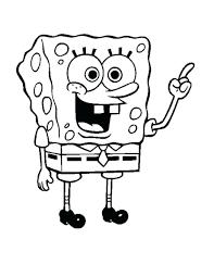 Coloring Pages Spongebob Squarepants Halloween Fun House Image Page