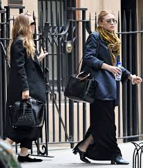 Olsens Anonymous Mary Kate Ashley Olsen Twins Style First The Row Shoe Collection MKA Jacket Coat