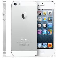 Refurbished Apple iPhone 5 16GB White LTE Cellular Straight Talk