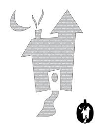 Panda Pumpkin Designs by Haunted House Clipart Pumpkin Carving Pattern Pencil And In