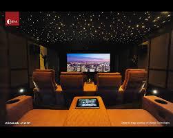cineak ferrier luxury seats featured in high tech theater