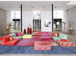 Mah Jong Modular Sofa by диван Mah Jong Kenzo Takada By Roche Bobois дизайн Hans Hopfer