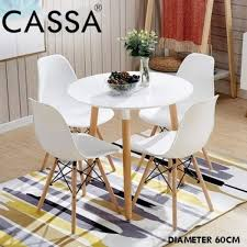 Senarai Harga Cassa Eames Stylish Dining Round Table 60 Cm ... Grey Linen Herringbone Ding Chair Set Of Two Stylish Chairs From Amazon To Upgrade Your Room Rex Mouse Velvet 2pk Jerry White Ding Chair With Solid Oak Legs Stylish Ding Chair With Light Grey Linen Fabric Leather 6 Pieces Black In Dewsbury West Yorkshire Gumtree Lowmediumhigh Upholstered For Any Budget Product Of The Week A Pair Alexa Caroline Antique 46 Modern Side High Backrest Metal Frame Legs Pu Turin Light Oak Low Back Gold Fabric