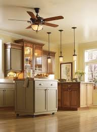 Amazing Of Ceiling Fan For Kitchen With Lights A Long Overdue Within Overhead Fans