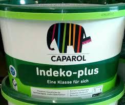caparol indeko plus 12 5ltr weiss innenfarbe hochdeckend