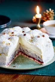 festliche schneeballtorte rezept lecker leckere torten