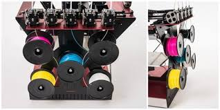 To Clarify Blending Is Not Exactly The Same As Multi Color 3D Printing Which Allows You Combine Two Differently Colored Filaments Into A Single Print