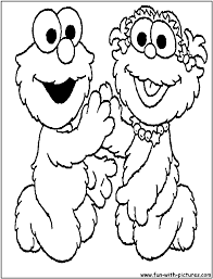 Elmo Coloring Page Pages Alphabet Archives Free For Kids Drawing